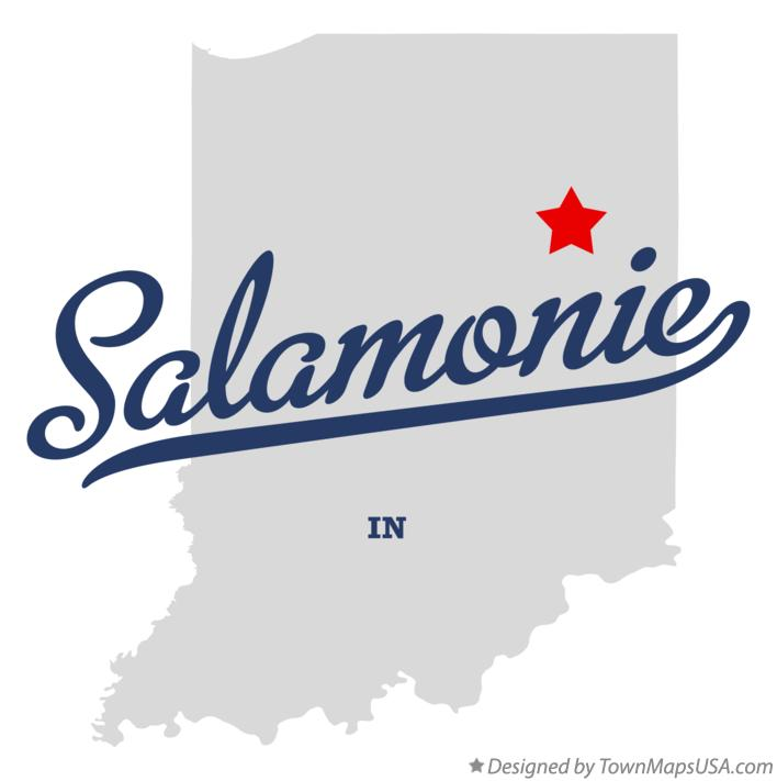 Map of Salamonie Indiana IN