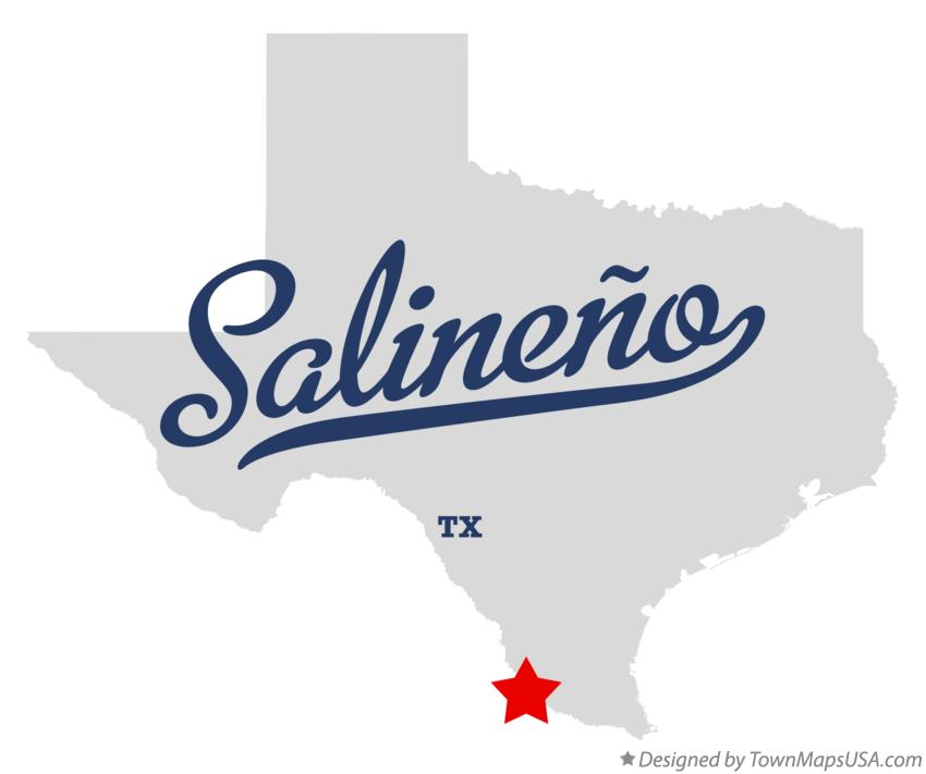 Map of Salineño Texas TX
