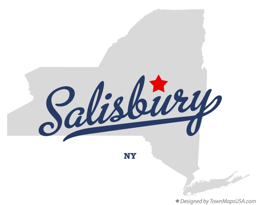 Map of Salisbury New York NY