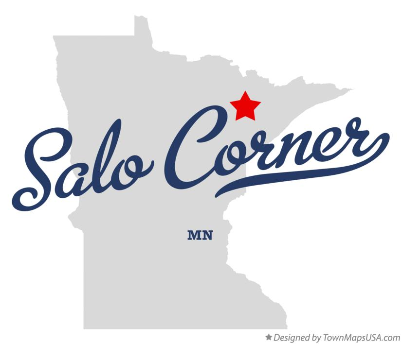 Map of Salo Corner Minnesota MN
