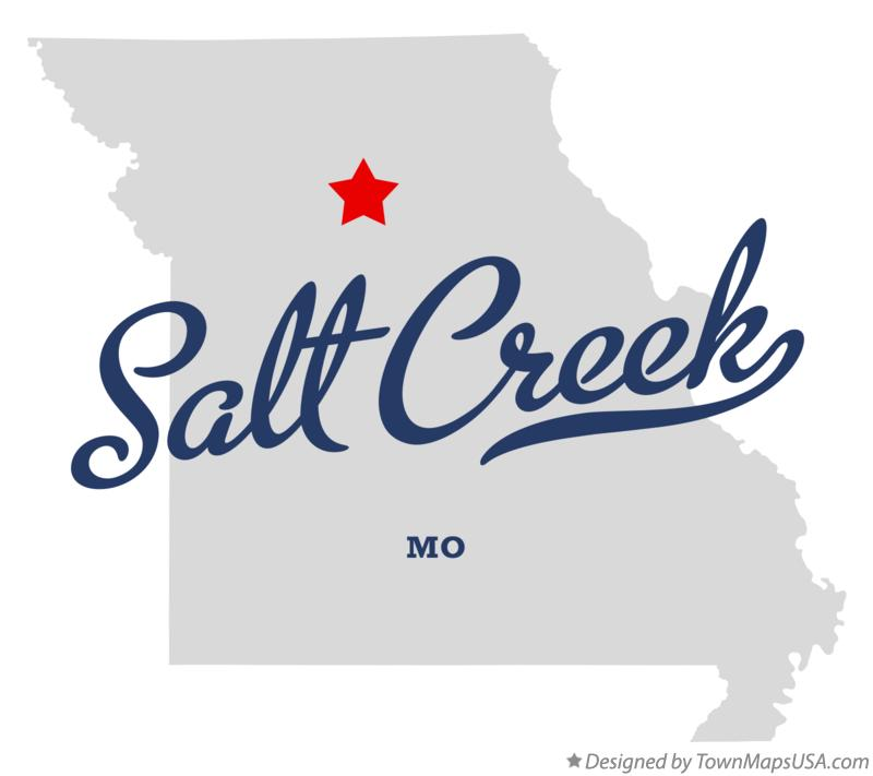 Map of Salt Creek Missouri MO