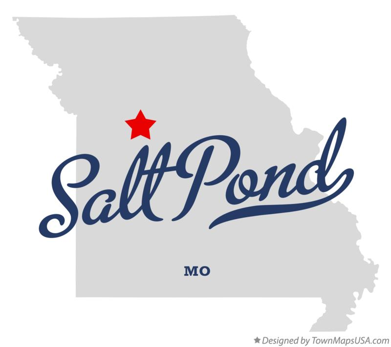 Map of Salt Pond Missouri MO