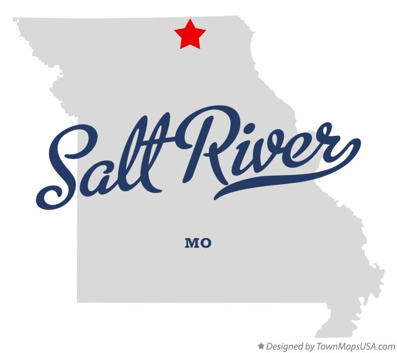 Map of Salt River Missouri MO