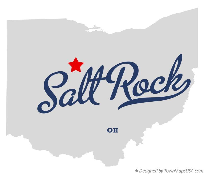 Map of Salt Rock Ohio OH