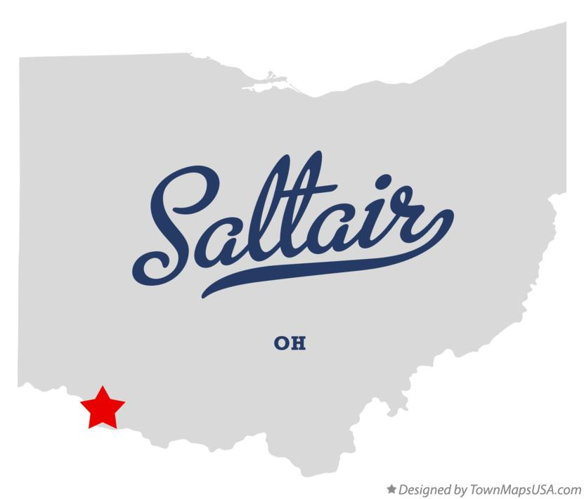 Map of Saltair Ohio OH