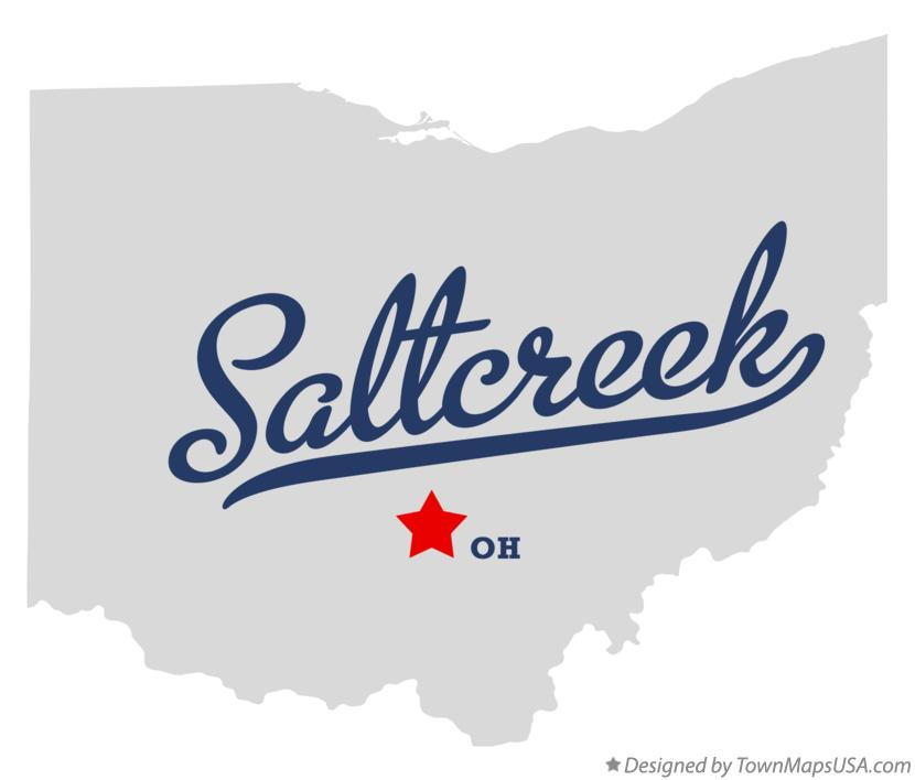 Map of Saltcreek Ohio OH