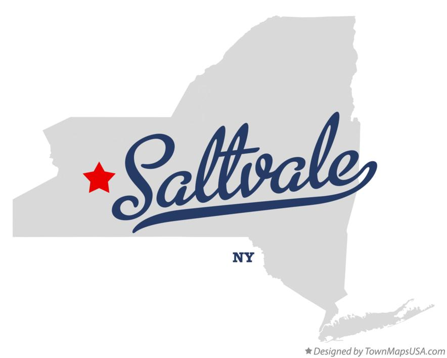 Map of Saltvale New York NY