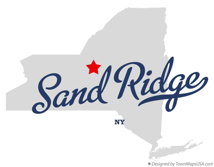 Map of Sand Ridge New York NY