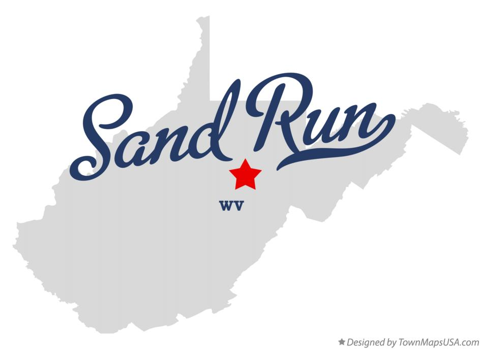 Map of Sand Run West Virginia WV