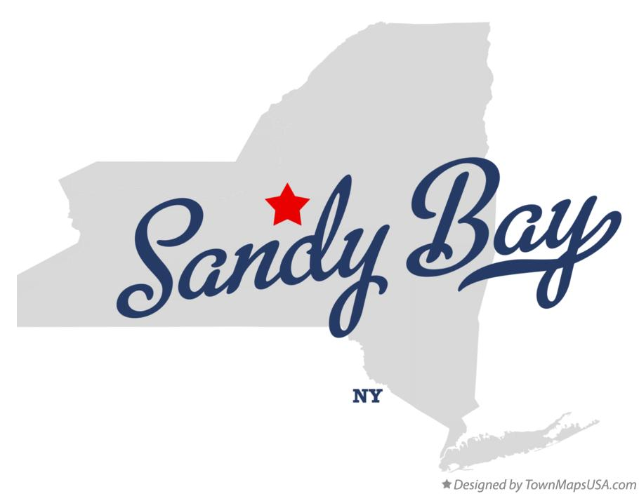 Map of Sandy Bay New York NY
