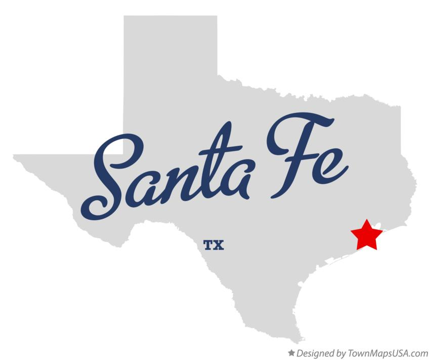 Where Is Santa Fe Texas On The Map