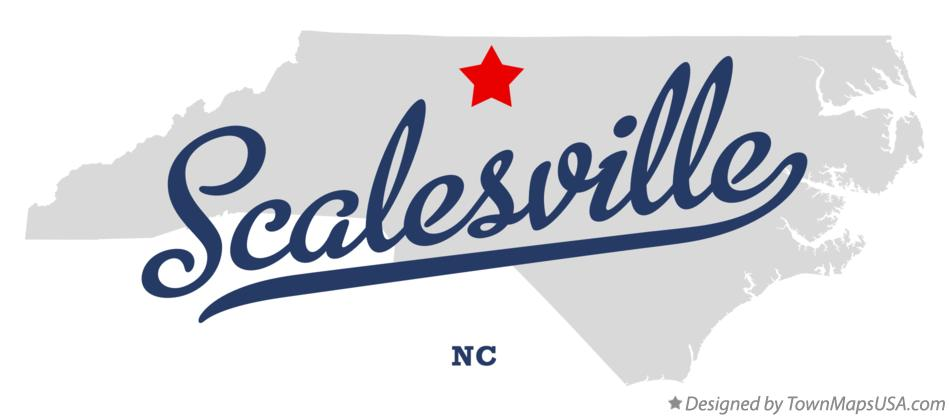 Map of Scalesville North Carolina NC