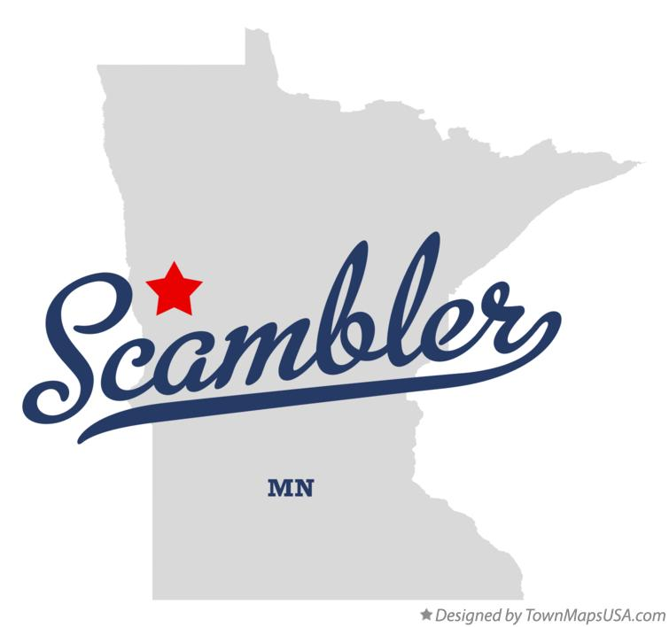 Map of Scambler Minnesota MN