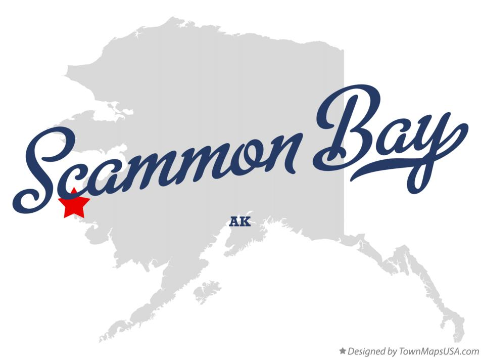 Map of Scammon Bay Alaska AK