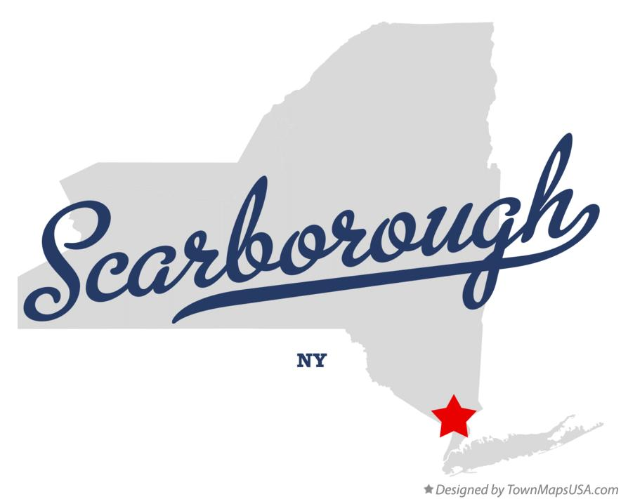 Map of Scarborough New York NY
