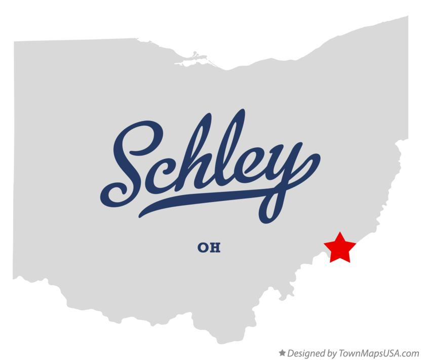Map of Schley Ohio OH