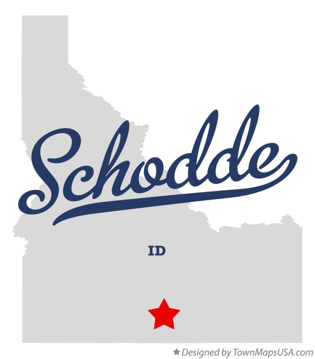 Map of Schodde Idaho ID