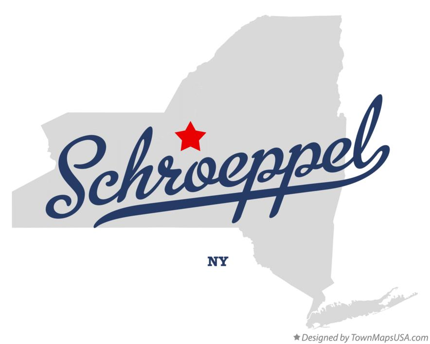 Map of Schroeppel New York NY