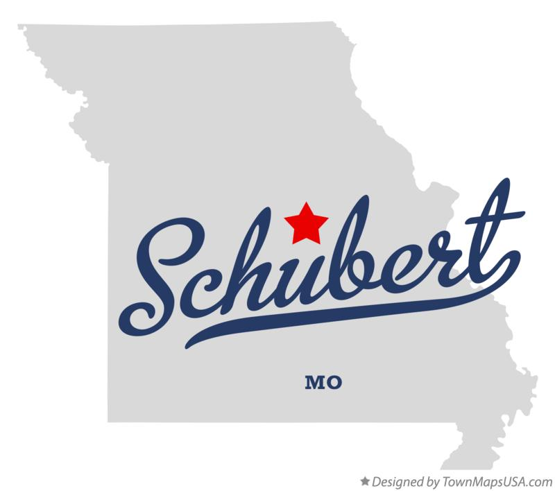 Map of Schubert Missouri MO