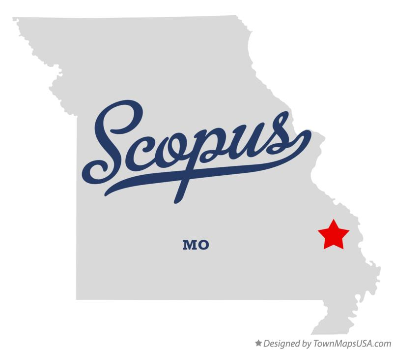 Map of Scopus Missouri MO