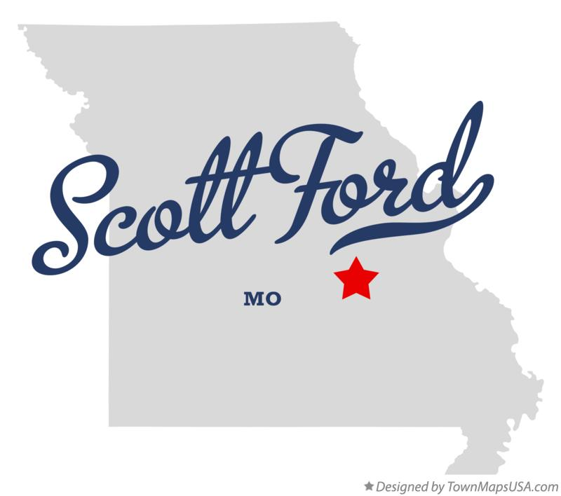Map of Scott Ford Missouri MO