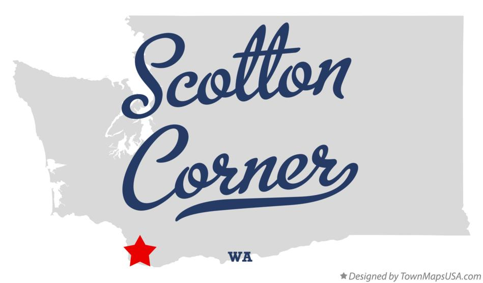 Map of Scotton Corner Washington WA