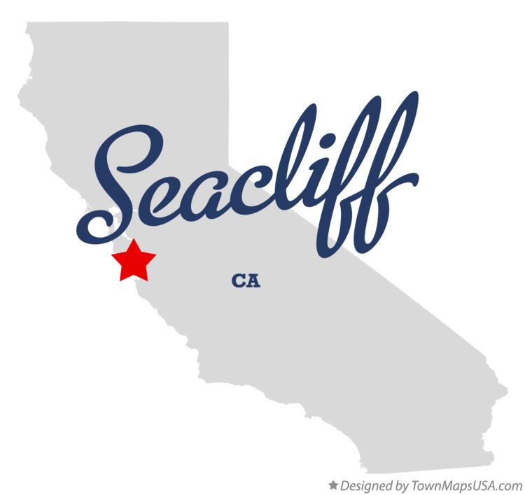 Map of Seacliff California CA