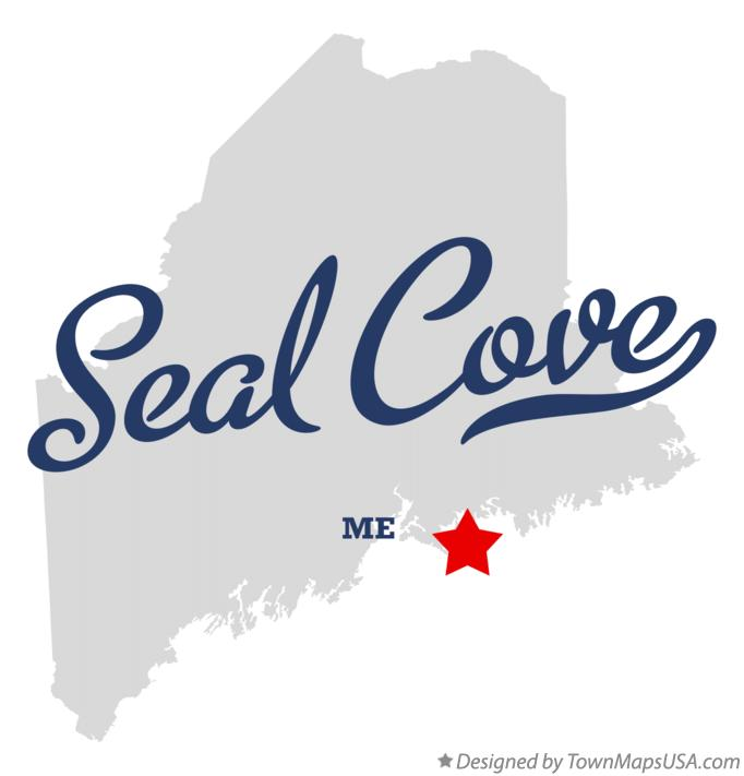 Map of Seal Cove Maine ME