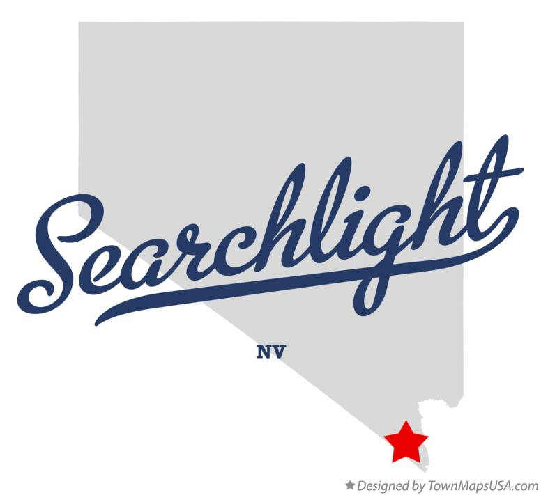 Map of Searchlight Nevada NV