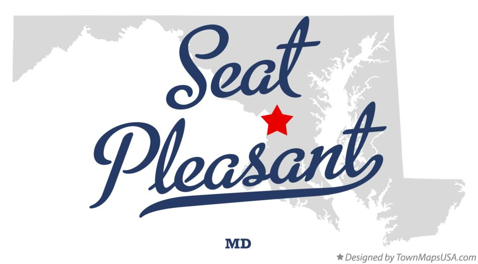 Map of Seat Pleasant Maryland MD
