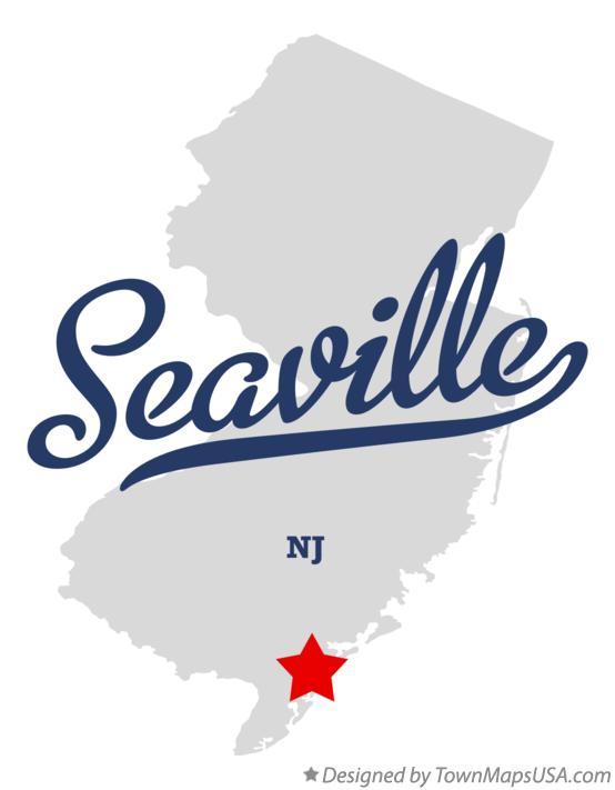 Map of Seaville New Jersey NJ