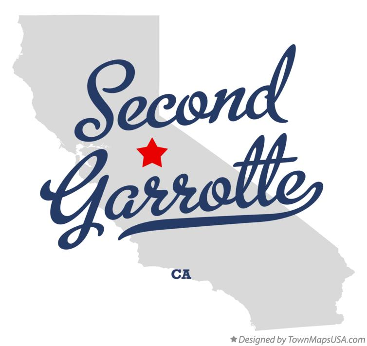 Map of Second Garrotte California CA