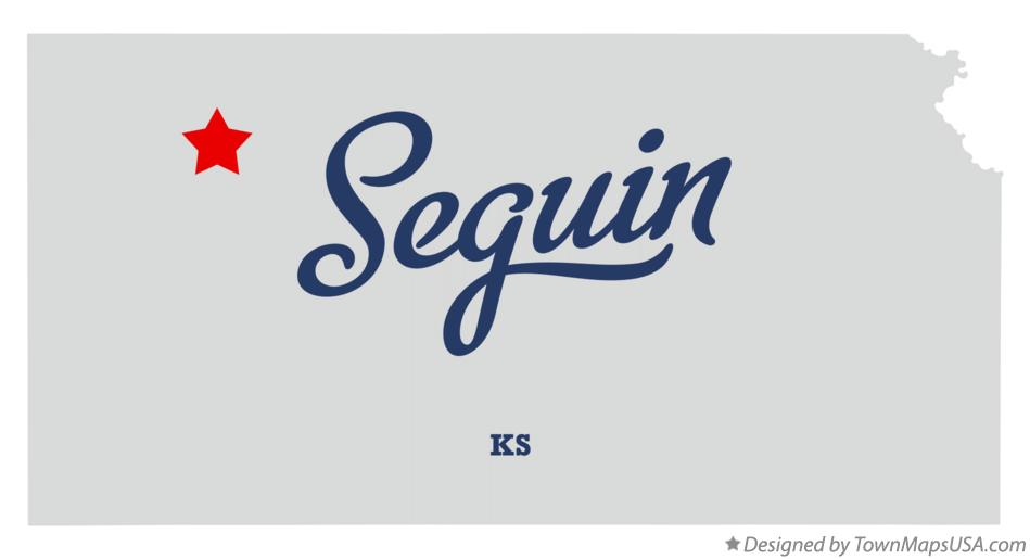 Map of Seguin Kansas KS