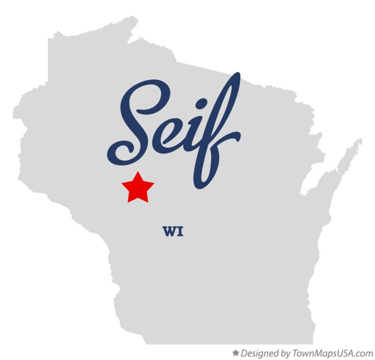 Map of Seif Wisconsin WI