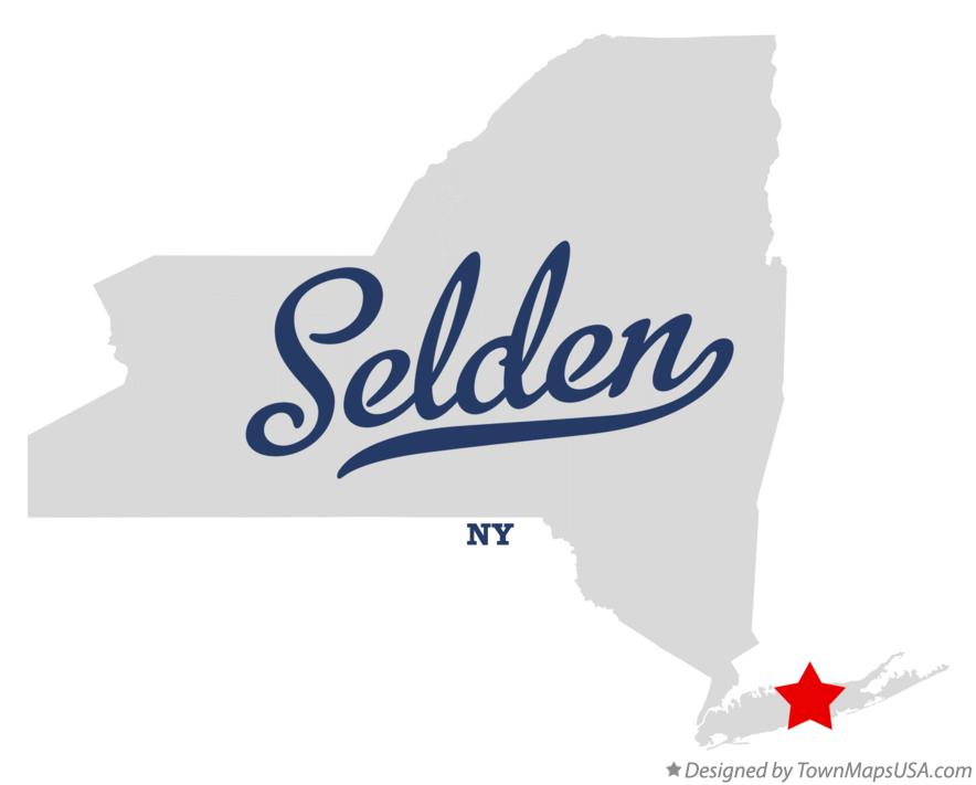 Map of Selden New York NY