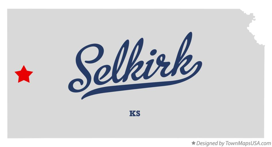 Map of Selkirk Kansas KS