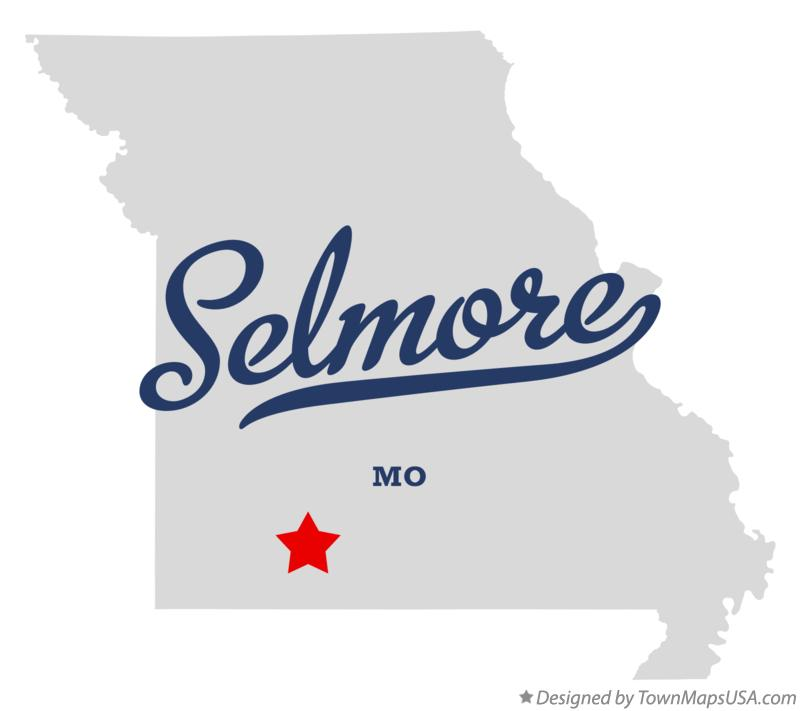 Map of Selmore Missouri MO