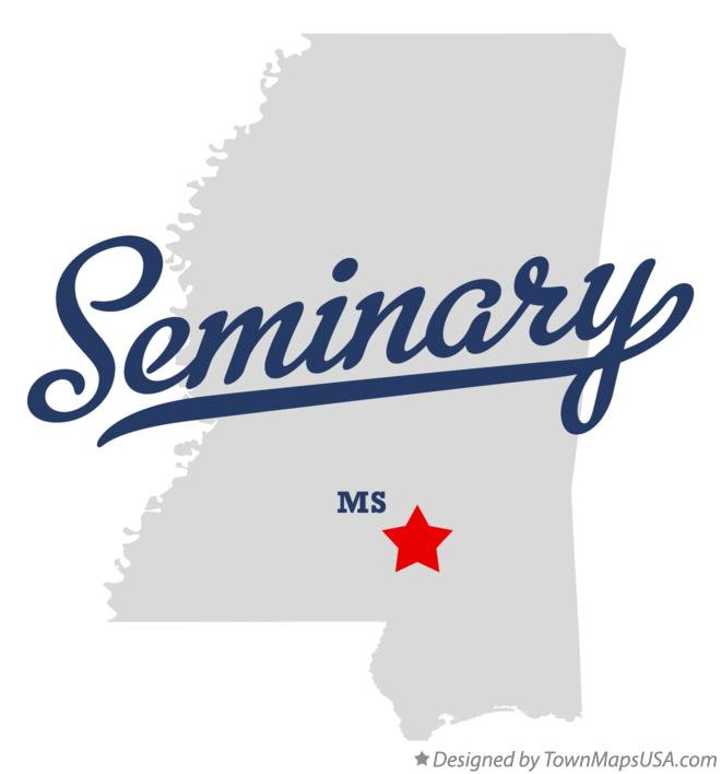 Map of Seminary Mississippi MS