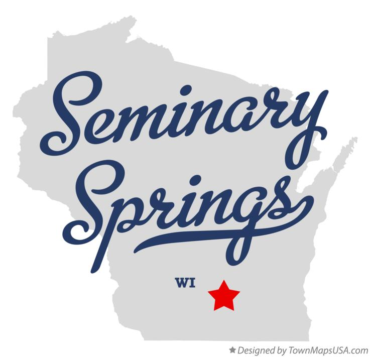 Map of Seminary Springs Wisconsin WI