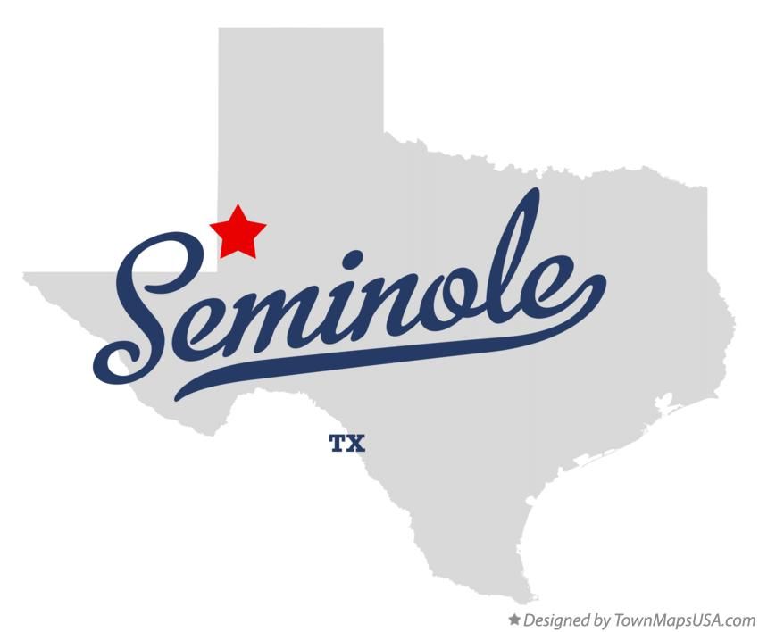 Seminole Texas Map Map of Seminole, TX, Texas