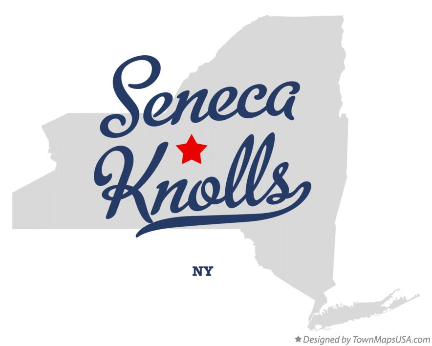 Map of Seneca Knolls New York NY