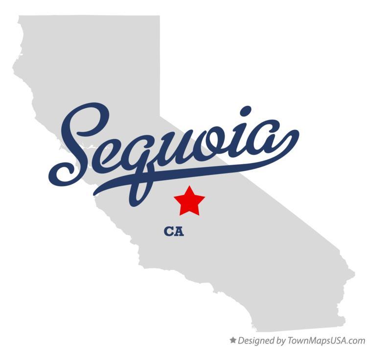 Sequoia California Map.Map Of Sequoia Ca California
