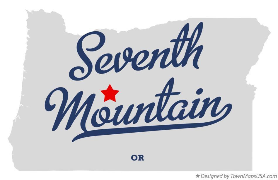 Map of Seventh Mountain Oregon OR