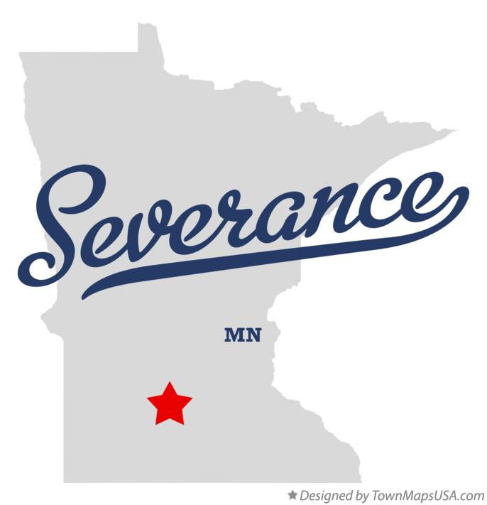 Map of Severance Minnesota MN