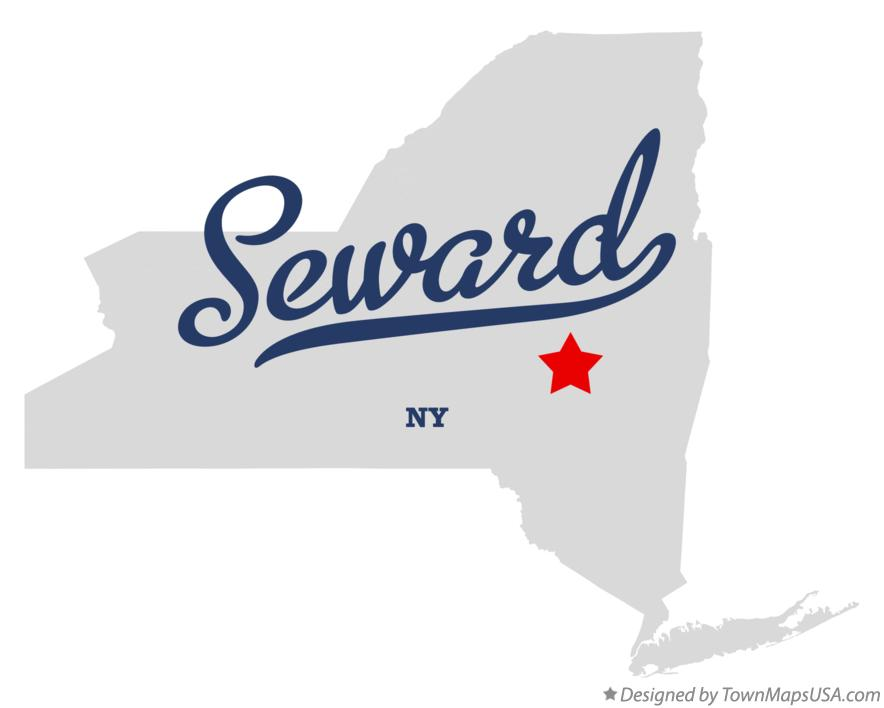 Map of Seward New York NY
