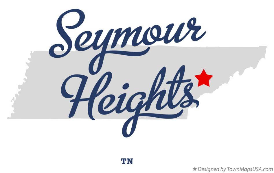 Map of Seymour Heights Tennessee TN