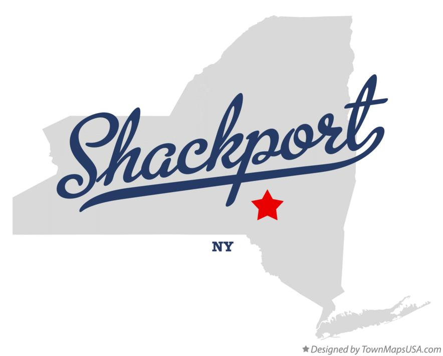 Map of Shackport New York NY