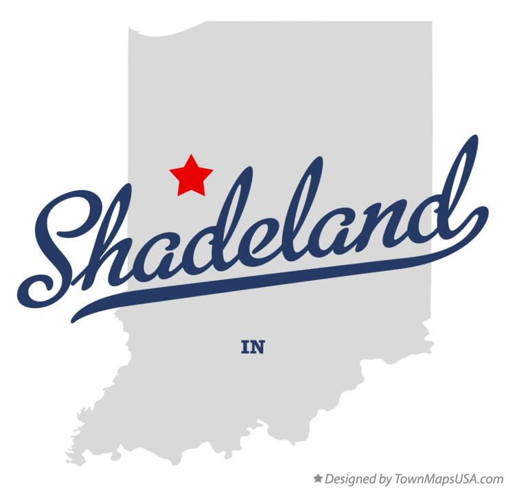 Map of Shadeland Indiana IN