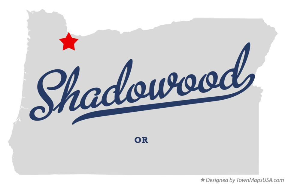 Map of Shadowood Oregon OR