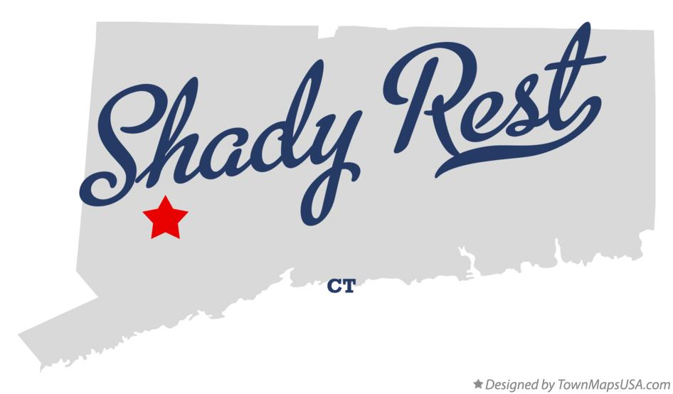 Map of Shady Rest Connecticut CT